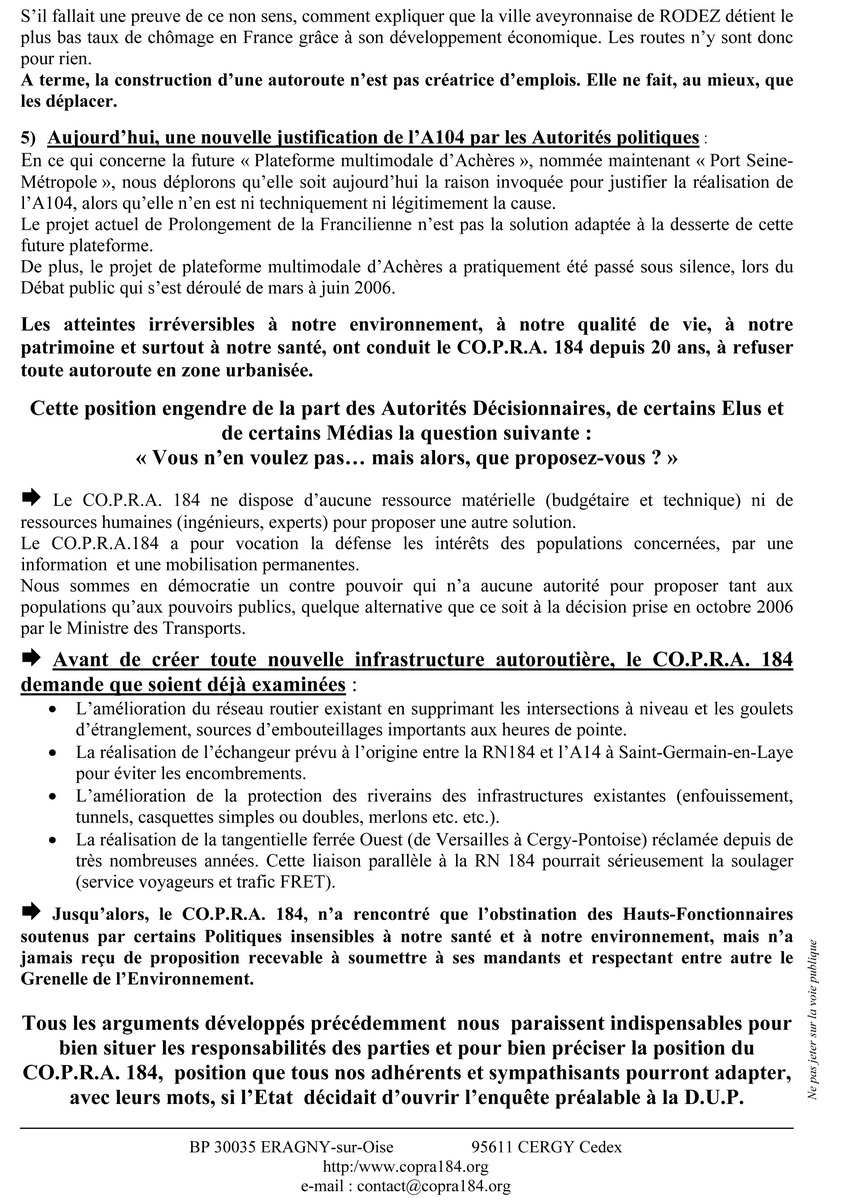 Tract Voeux des Maires 2012 - Verso