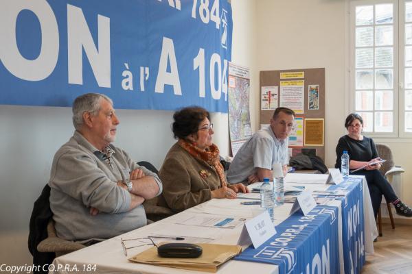 Conférence de presse CO.P.R.A. 184 du 23 mars 2017 à Carrières-sous-Poissy