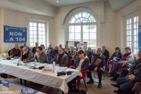 Conférence de presse CO.P.R.A. 184 du 23 mars 2017 à Carrières-sous-Poissy